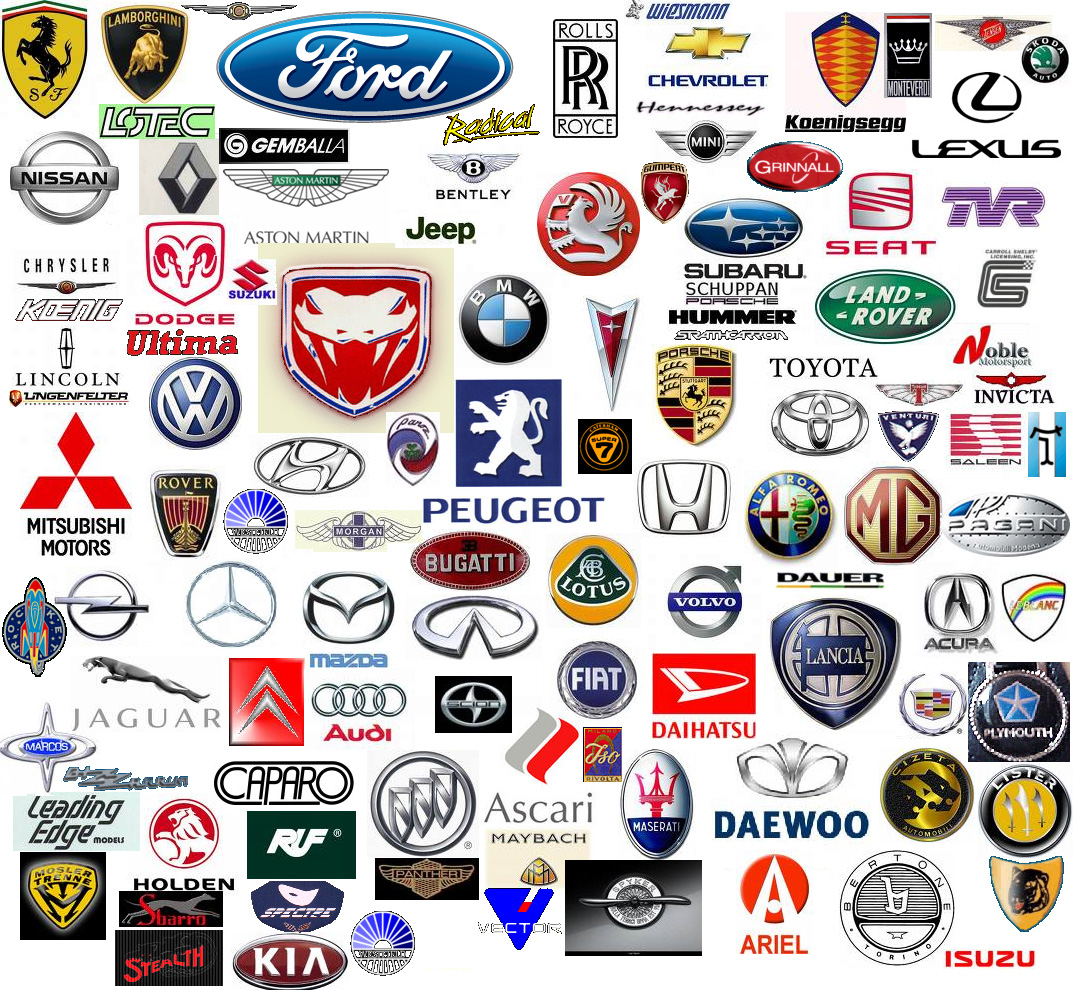 List Of Car Logos A Z Collection Manufacturers By Country