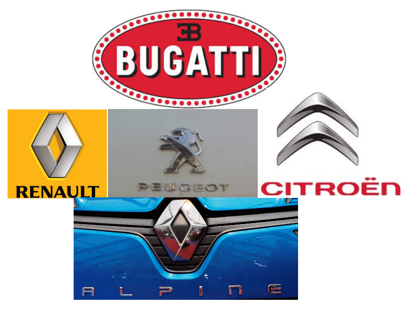 French Car Companies With Logos