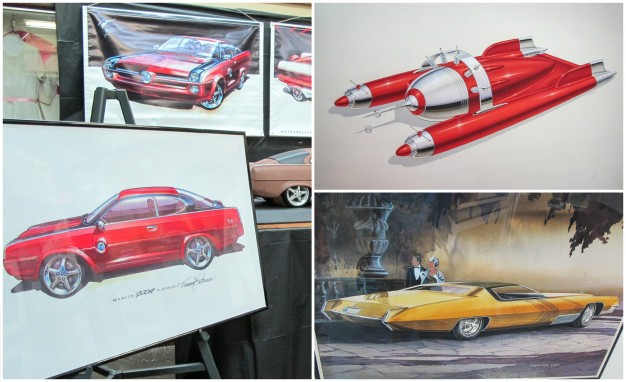 Six Retired Designers Showcase Their Dream Car Design